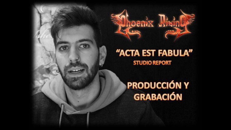 «Studio Report» – Producción y grabación de guitarras y voces