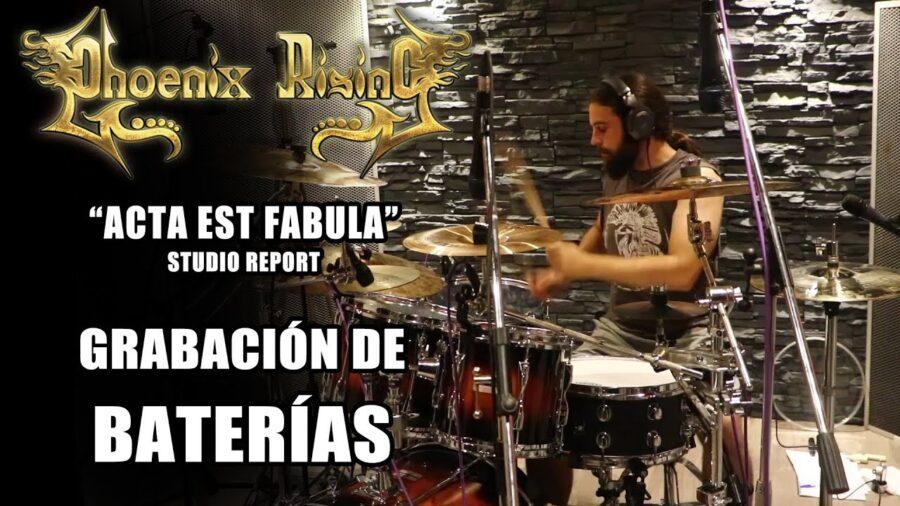 «Studio Report» – Grabación de baterías